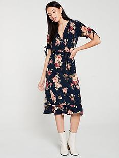 oasis-rose-wrap-midi-dress-multiblue