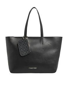 calvin-klein-f19-medium-shopper-black