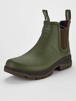 barbour-fury-chelsea-wellington-green