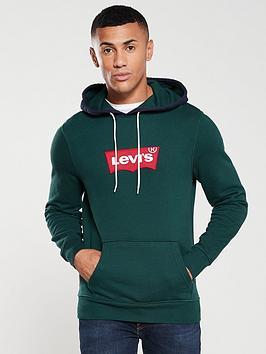 levis-contrast-hood-hoodie-pine-green