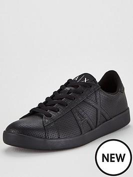 armani-exchange-armani-exchange-perforated-leather-trainers