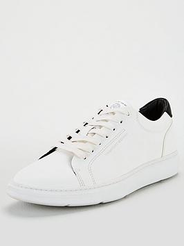 KG Kg Wade Lace Up Trainers - White Picture