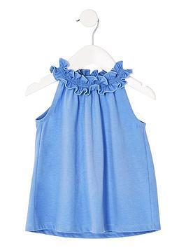 river-island-mini-mini-girls-trapeze-top-blue