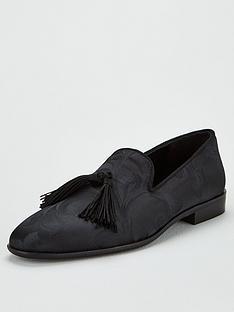 kg-kingston-tassel-loafers-black