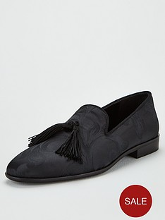 kg-kingston-tassel-loafers-black