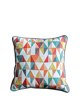 Gallery Gallery Lagom Scandi Triangle Cushion Picture