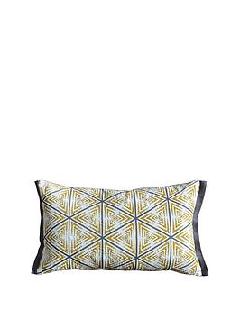 Gallery Gallery Lagom Hugi Geo Print Cushion - Multi Picture