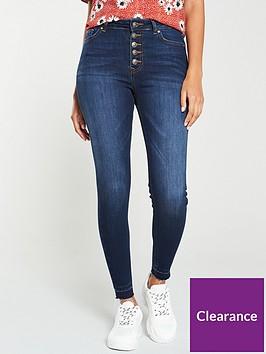 v-by-very-kasi-holding-power-button-front-skinny-jean-dark-indigo
