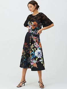 v-by-very-lace-trim-scuba-prom-dress-print