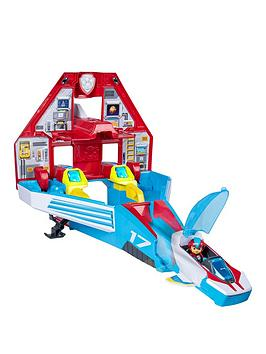 Paw Patrol Paw Patrol Mighty Pups Super Paws &Ndash; Mighty Jet Command  ... Picture