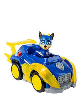Paw Patrol Paw Patrol Mighty Pups Superpaws Themed Vehicle - Chase Picture