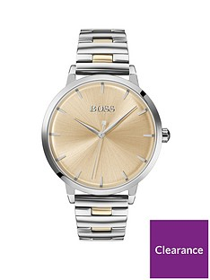 boss-champagne-sunray-and-silver-detail-dial-two-tone-stainless-steel-bracelet-ladies-watch