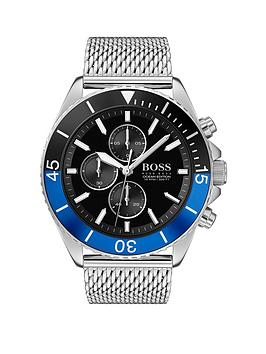 Boss Boss Boss Ocean Edition Black And Blue Detail Chronograph Dial  ... Picture