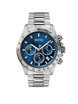 Boss Boss Boss Hero Sport Lux Blue Sunray Chronograph Dial Stainless Steel  ... Picture