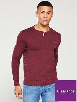 tommy-jeans-classics-crew-neck-jumper-burgundy