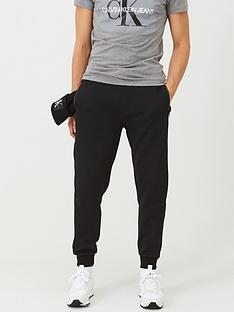 calvin-klein-mixed-media-interlock-sweat-pants-black