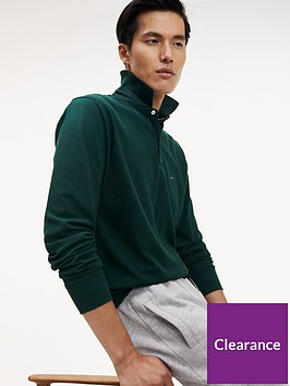 tommy-hilfiger-regular-long-sleeved-polo-shirt-green