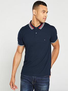 tommy-hilfiger-contrast-tipped-regular-polo-shirt-navy