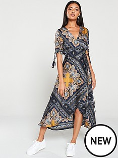 ax-paris-paisley-tie-waist-wrap-dress-multi