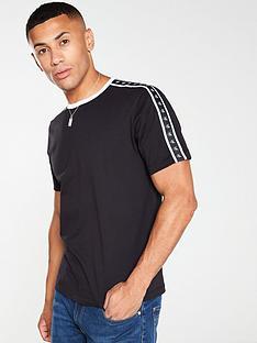 calvin-klein-jeans-monogram-tape-t-shirt-black