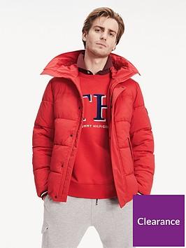 tommy-hilfiger-stretch-hooded-bomber-jacket-red