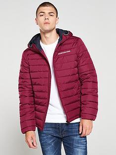 calvin-klein-jeans-padded-hooded-jacket-burgundy