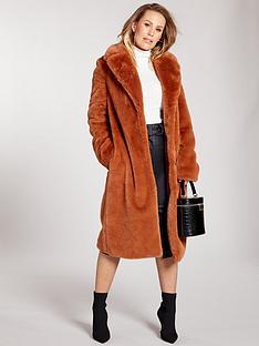 kate-wright-premium-longline-faux-fur-coat-spice