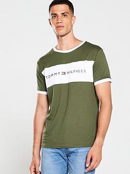tommy-hilfiger-original-logo-flag-t-shirt-green