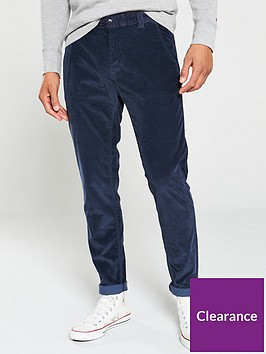 tommy-jeans-tapered-cord-chinos-navy