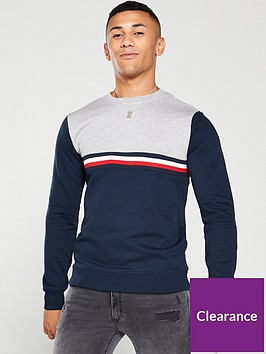 tommy-hilfiger-colour-block-sweatshirt-navygrey