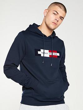 tommy-hilfiger-hilfiger-logo-hoodie-navy