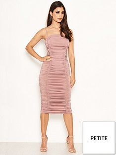 ax-paris-petite-ax-paris-petite-mink-ruched-strappy-bodycon-dress