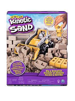 Kinetic Sand Kinetic Sand Dig N' Demolish Picture