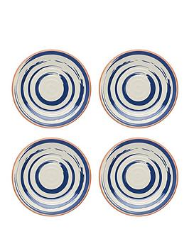 kitchencraft-great-outdoors-collection-ndash-set-of-4-lulworth-snack-plates