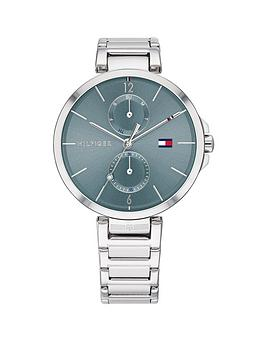 Tommy Hilfiger Tommy Hilfiger Angela Blue Sunray Dial Stainless Steel  ... Picture