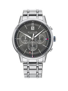 tommy-hilfiger-kyle-grey-sunray-chronograph-dial-stainless-steel-bracelet-mens-watch
