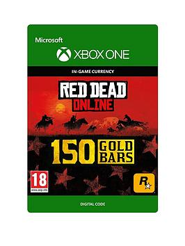 Microsoft   Red Dead Redemption 2: 150 Gold Bars - Digital Download