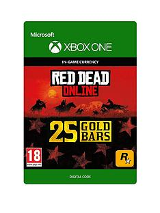 microsoft-red-dead-redemption-2-25-gold-bars