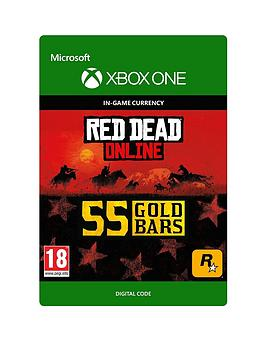 Microsoft   Red Dead Redemption 2: 55 Gold Bars - Digital Download