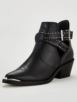 ted-baker-selania-cut-out-biker-boots-black