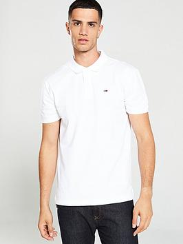 Tommy Jeans Tommy Jeans Classics Solid Stretch Polo Shirt - White Picture