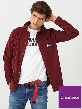 tommy-jeans-cord-long-sleeve-shirt-burgundynbsp