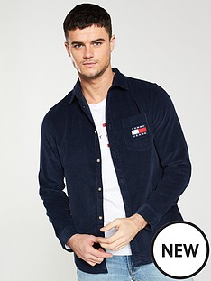 tommy-jeans-cord-longsleeve-shirt