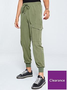 v-by-very-side-pocket-utility-trouser-khaki