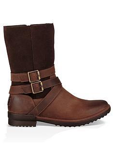 ugg-lorna-calf-boots-brown
