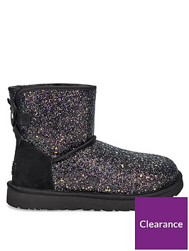 ugg-classic-mini-bow-cosmos-ankle-boots-black