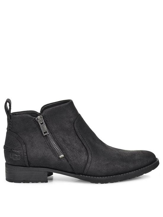 Aureo Ii Ankle Boots   Black by Ugg
