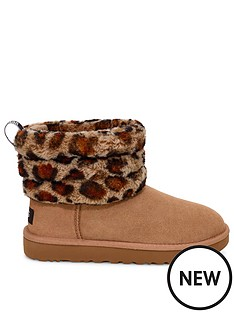 ugg-fluff-mini-quilted-ankle-boots-leopard-print