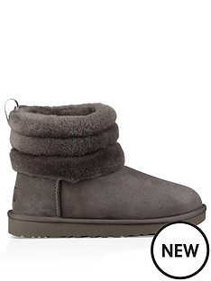 ugg-fluff-mini-quilted-ankle-boots-charcoal