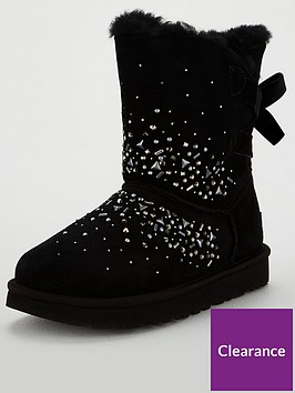 ugg-classic-galaxy-bling-short-calf-boot-black